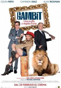 Locandina Gambit (screenweek.it)