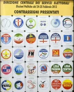 Elezioni, presentati simboli al Viminale