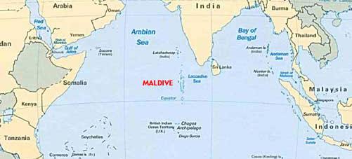 Antico Continente Sotto L Oceano Indiano