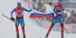 russia mondiali sci nordico staffetta sprint