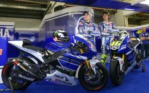 Valentino Rossi Jorge Lorenzo Yamaha
