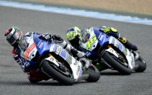 Valentino Rossi Jorge Lorenzo MotoGP Yamaha