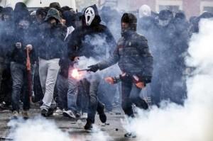 derby, roma-lazio, scontri