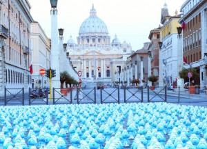 I puffi a Roma