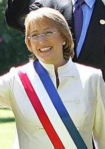 Michelle Bachelet era già stata presidente tra il 2006 e il 2010