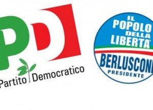 Politica, sondaggi: testa a testa tra Pd e Pdl, crollo del M5S