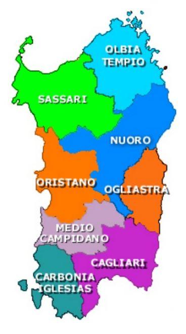 Cartina Sardegna Province.Sardegna Il Giallo Delle Province Cancellate Dal Referendum E Scontro Wakeupnews