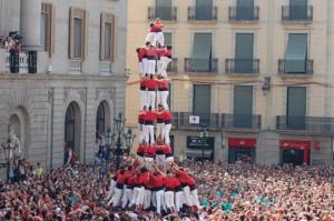 Un esempio di torre umana (castellersdebarcellona.cat)