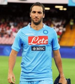 Gonzalo Higuain pronto all'esordio in serie A (sportcampania.it)