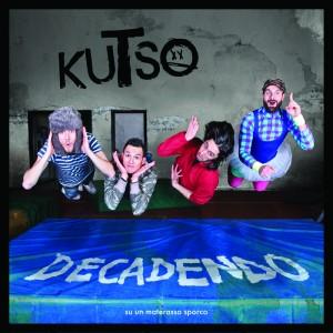 """La copertina di """"Decadendo (su un Materasso sporco)"""", l'album d'esordio dei Kutso"""