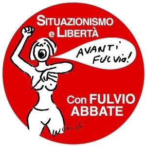 Il logo di Situazionismo e Libertà, partito fondato da Fulvio Abbate (caserta.blogautore.espresso.repubblica.it)