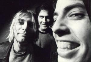 I Nirvana: Kurt Cobain, Krist Novoselic, Dave Grohl (camp-dot.com)