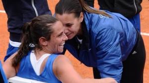 Flavia Pennetta e Roberta Vinci sono 4-4 nei match precedenti: ultima vittoria della Pennetta al Roland Garros 2010