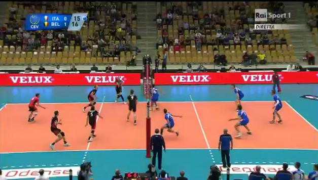 Italia-Belgio europei 2013
