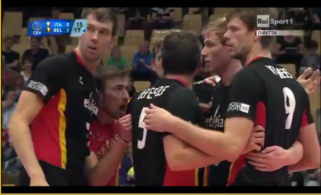 Belgio volley europei 2013