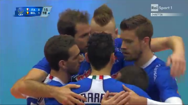 Italia-Belgio europei maschile 2013