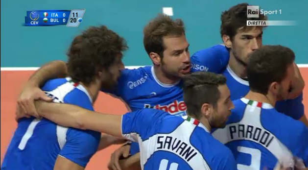 Italia-Bulgaria eurovolley