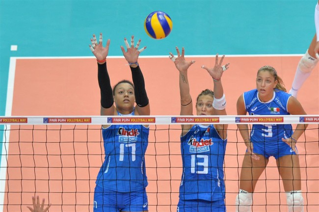 europei volley femminile