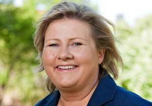 Erna Solberg è il primo ministro eletto della Norvegia