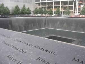 Il memoriale di Ground Zero occupa lo spazio lasciato vuoto dal crollo delle torri (Foto di Gian Piero Bruno)