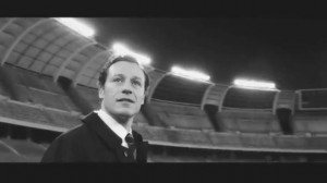 Stefano Accorsi in una scena de 'L'arbitro'