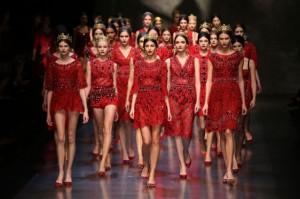 milano fashion week sfilata