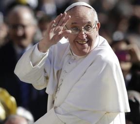 Jorge Bergoglio, papa Francesco (melty.it)