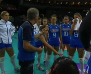 italia-francia europey volley