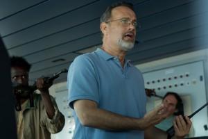 Tom Hanks (Richard Phillips) in una scena del film
