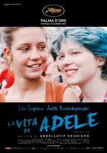 Il poster del film 'La vita di Adele'