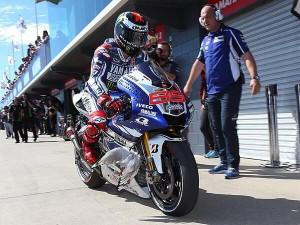 Lorenzo gabbiano MotoGP