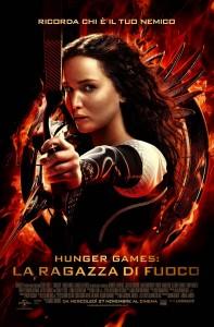 Il poster ufficiale di 'Hunger Games - La ragazza di fuoco'