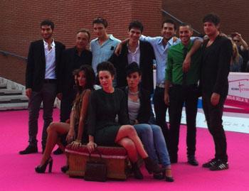 Il cast di Roles al RomaFictionFest 2013