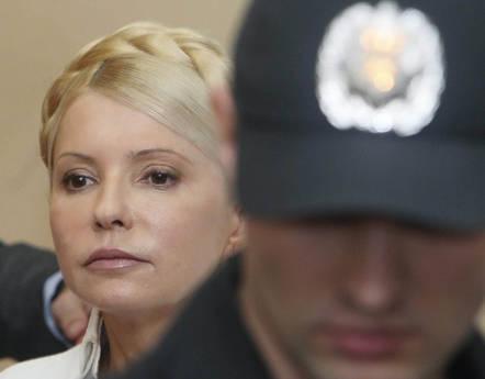 Yulia Timoshenko ex primo ministro ucraina kiev