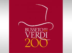 Il logo scelto per le celebrazioni del bicentenario della nascita di Verdi