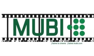 Il logo della piattaforma MUBI