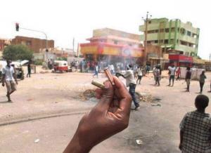sudan, primavera araba
