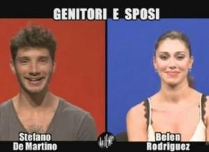 Belen Rodrigues e Stefano Di Martino, suo marito (net1news.org)