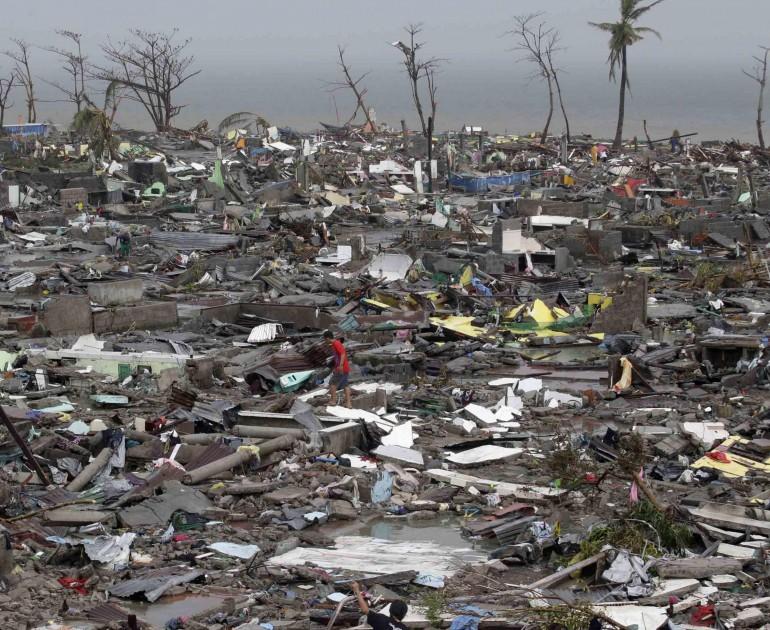 Gli effetti del tifone Haiyan sulle Filippine