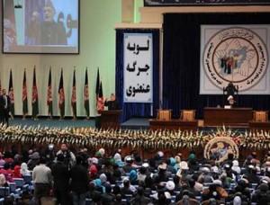 Un'immagine di una precedente Loya Jirga: la grande riunione mescola elementi politici, tradizionali e religiosi