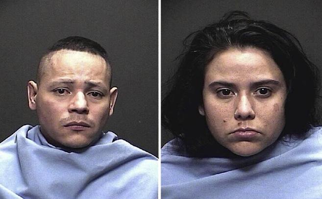 Le foto segnaletiche dei due aguzzini, arrestati per abusi e sequestro di persona