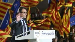 artur mas-elezioni 2012