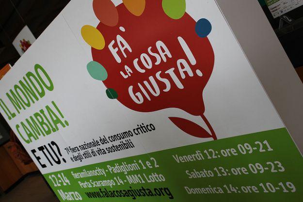 La fiera nazionale del consumo critico e degli stili di vita sostenibili va in scena ogni anno a Milano, Trento e Palermo