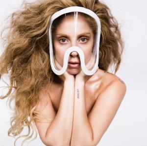 Lady Gaga in un'immagine promozionale di 'ARTPOP'