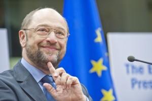 Martin Schulz, presidente dell'Europarlamento: sarà il candidato Pse per la Commissione europea 2014