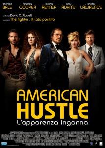 Il poster del film 'American Hustle - L'apparenza inganna'