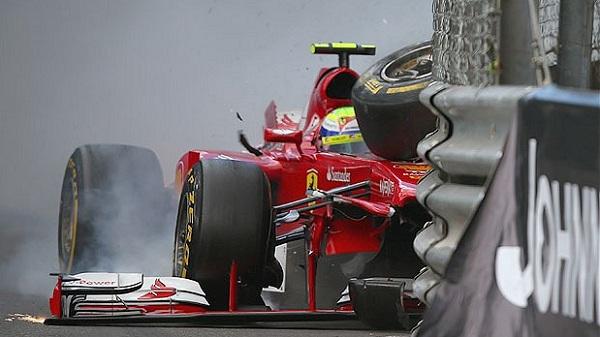 I primi problemi si sono visti a Monaco (foto: f1fanatik.co.uk)