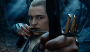 Orlando Bloom interpreta l'Elfo Legolas