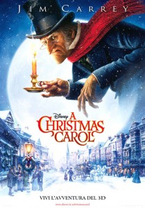 La locandina del film 'A Christmas Carol'