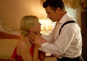 Cate Blanchett e Alec Baldwin in una scena del film